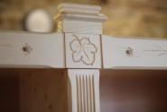 Detail drevorezba