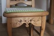Dubová stolička