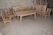 Jedálenský dubový stôl