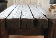 Konferenčný stôl - staré drevo