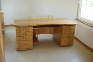 Pracovný stôl dub